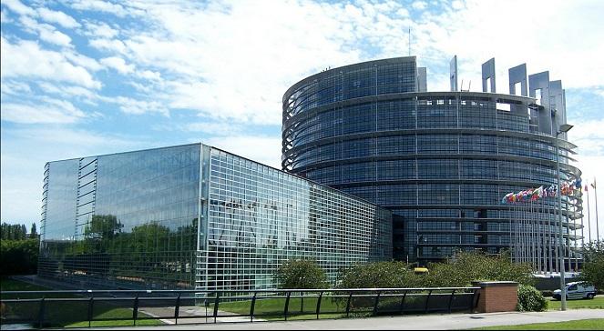Здание Европарламента в Страсбурге.