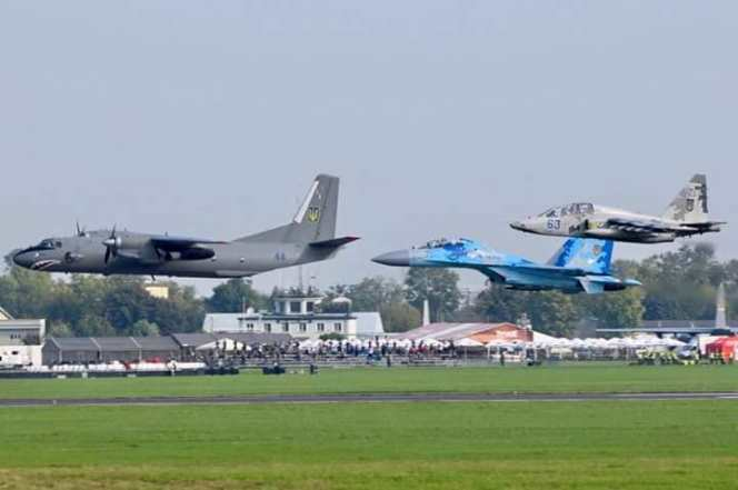 Українські літаки у Радомі
