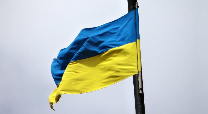 Flaga Ukrainy - zdjęcie ilustracyjne