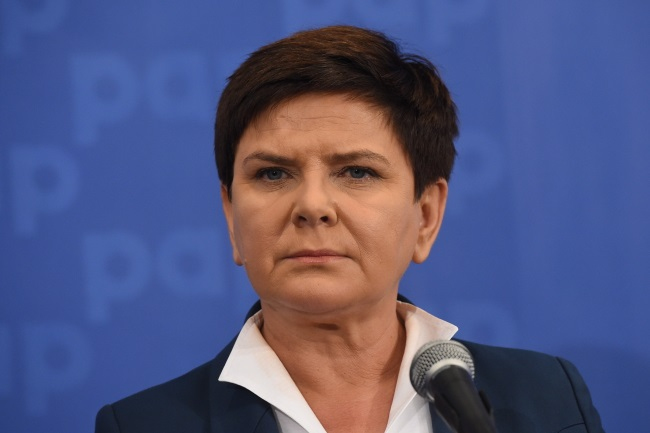 PM Beata Szydło. Photo: PAP/Radek Pietruszka