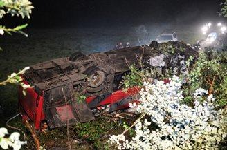 Three dead in Ukrainian tour bus crash