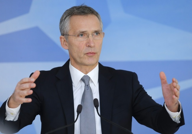 NATO Secretary General Jens Stoltenberg. Photo: EPA/OLIVIER HOSLET