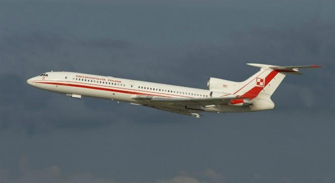 Tupolew TU-154M o numerze bocznym 101. To ta maszyna uległa katastrofie w Smoleńsku (zdjęcie z 2008 roku)