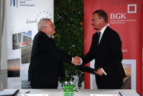 The EIB and BGK signed a long-term loan. Photo: BGK