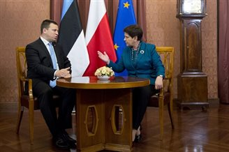 Poland, Estonia discuss partnership