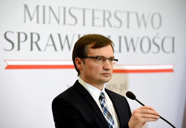 Министр юстиции Польши Збигнев Зёбро. PAP/Radek Pietruszka
