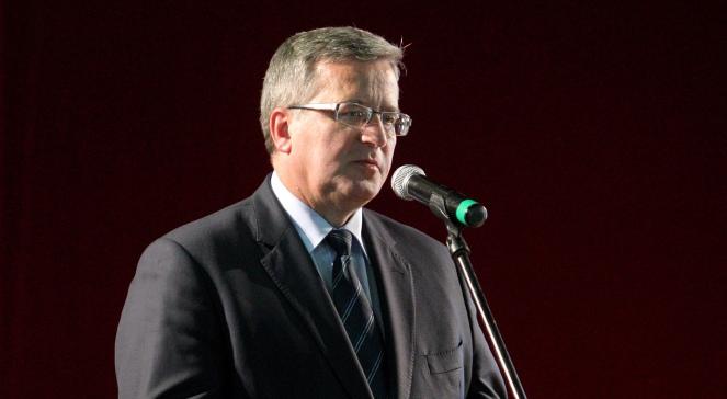 Bronisław Komorowski. Photo: PAP/Tomasz Waszczuk