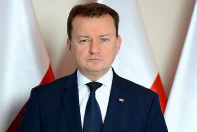 Mariusz Błaszczak. Photo: www.mon.gov.pl