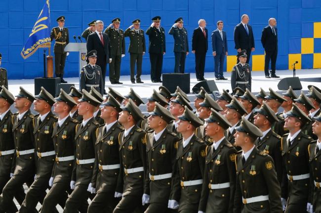У військовому параді в Києві взяли участь польські солдати