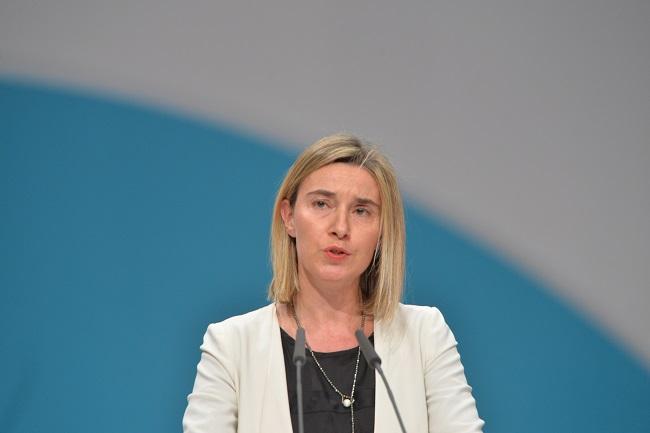 голова дипломатії ЄС Ведеріка Моґеріні