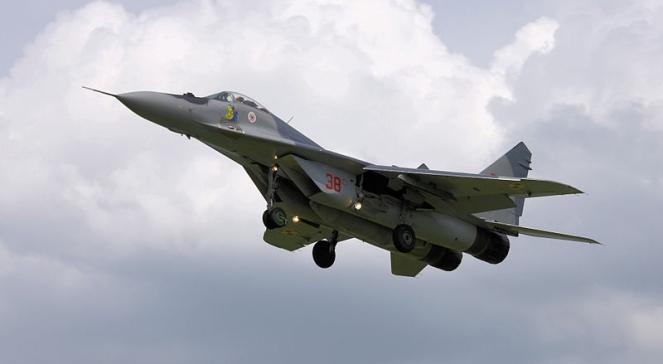 Myśliwiec MIG-29 rosyjskiej produkcji - zdjęcie ilustracyjne