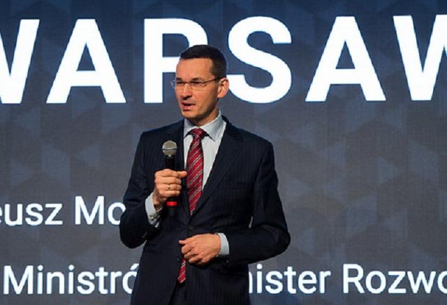 Mateusz Morawiecki.  Photo: Flickr.com/Kancelaria Prezesa Rady Ministrów