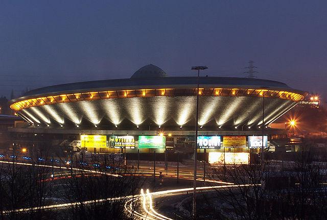 The Spodek hall in Katowice. Photo: Wikimedia Commons