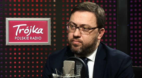 Вице-министр иностранных дел Польши Бартош Цихоцкий