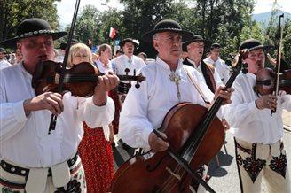 Int'l folk fest in Poland's Zakopane
