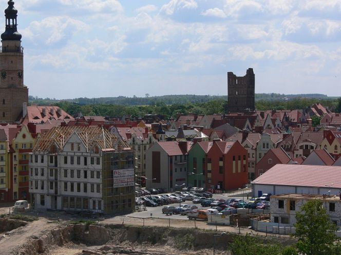 Місто Ґлоґув у Нижньосілезькому воєводстві