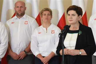 PM thanks Polish Olympic athletes