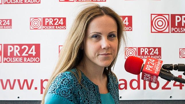 Dr. Agnieszka Łada, Politikwissenschaftlerin vom Institut für Öffentliche Angelegenheiten in Warschau.