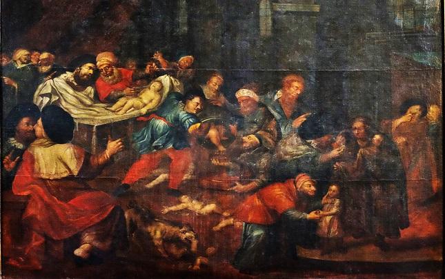 Das Gemälde von Carlo di Prevo hängt in der Kathedrale in Sanodmierz, die dieses Jahr ihr 200-jähriges Jubiläum feiert.