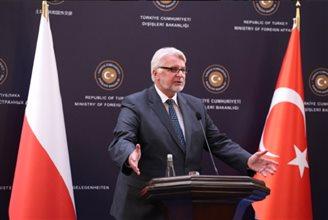 Polish FM discusses NATO eastern flank in Ankara visit