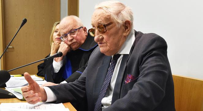 Der ehemalige KZ-Häftling Karol Tendera
