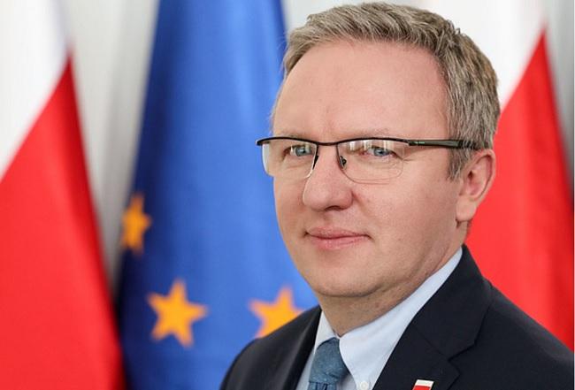 Krzysztof Szczerski. Photo: Maciej Biedrzycki/KPRP