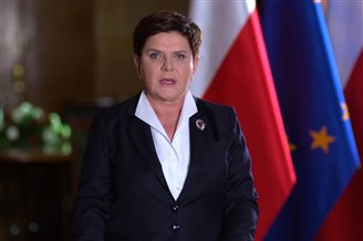 Polish PM condemns terror attacks in Spain