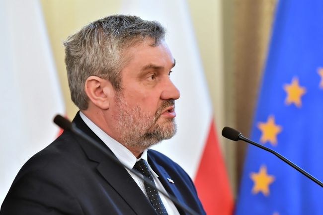 Agriculture Minister Jan Krzysztof Ardanowski. Photo: PAP/Maciej Kulczyński
