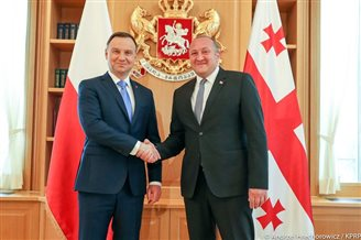 Polish president reiterates support for Georgian NATO membership