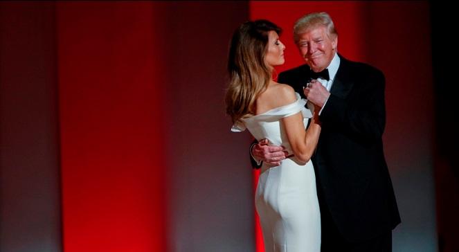 Дональд Трамп са сваёй жонкай