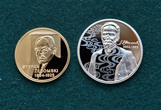 Coins commemorate author Zeromski