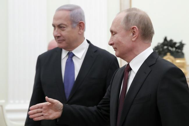 Встреча лидеров Израиля и России 27 февраля в Кремле