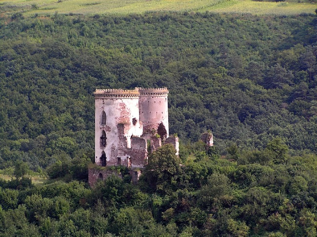 Замок в Червонограде. Фото: Wikipedia.org