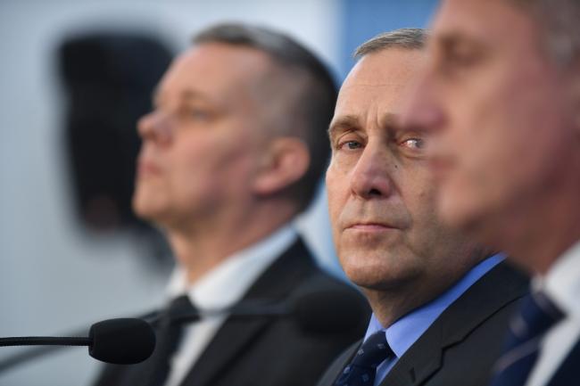 PO head Grzegorz Schetyna. Photo: PAP/Bartłomiej Zborowski