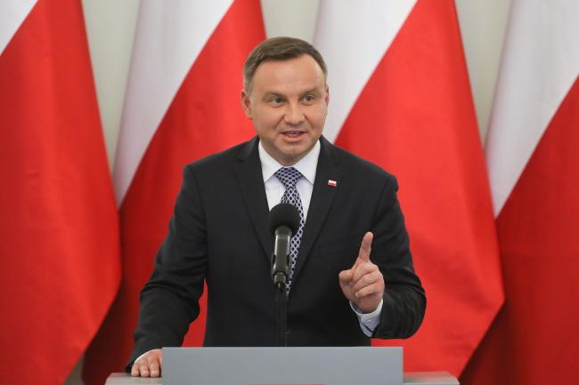 Andrzej Duda. Photo:  PAP/Paweł Supernak.