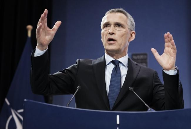 Генеральный секретарь Североатлантического альянса Йенс Столтенберг.