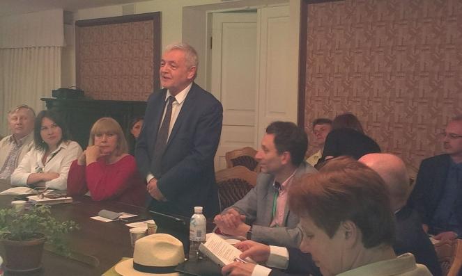 Посол Польщі в Україні Ян Пєкло на відкритті конференції