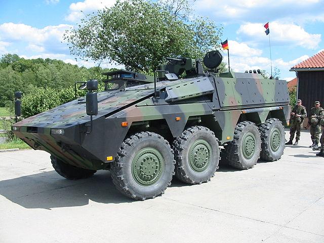 German Rheinmetall has experience in building military vehicles. Photo: Wikimedia Commons