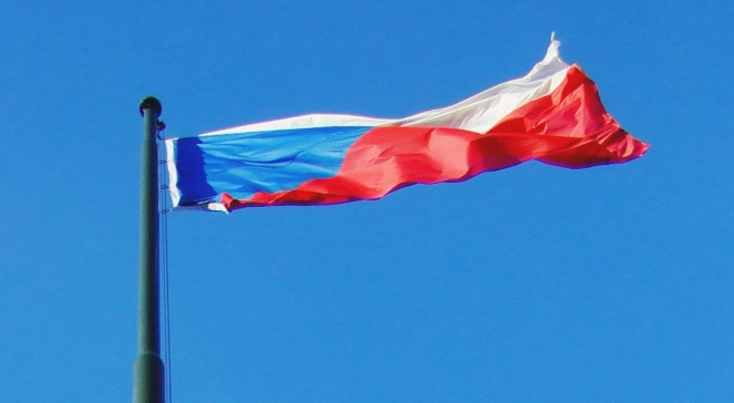 Czech flag. Popular in Poland. Photo: Wikipedia/Aktron