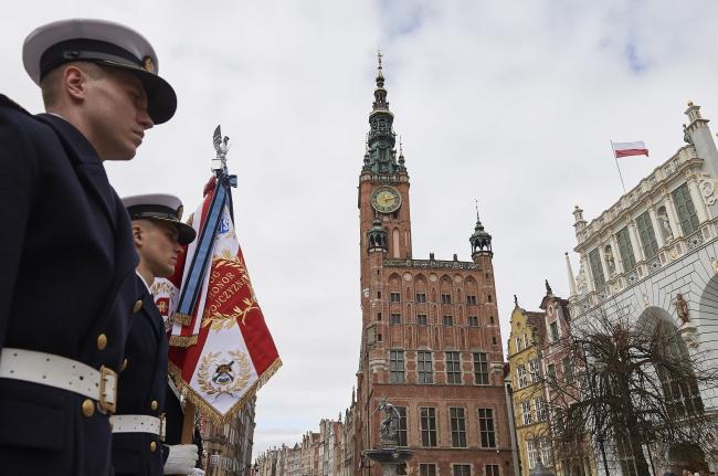 27 марта в Гданьске отмечалось 74-летие возвращения города в состав Польши