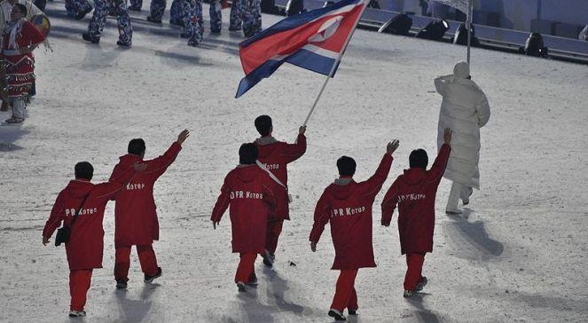 Manifestacja w Korei Północnej