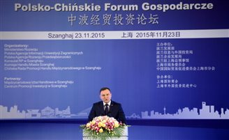 President Duda in China