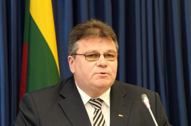 Міністр закордонних справ Литви Лінас Лінкявічюс