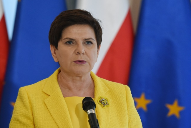 Polish Prime Minister Beata Szydło. Photo: PAP/Radek Pietruszka