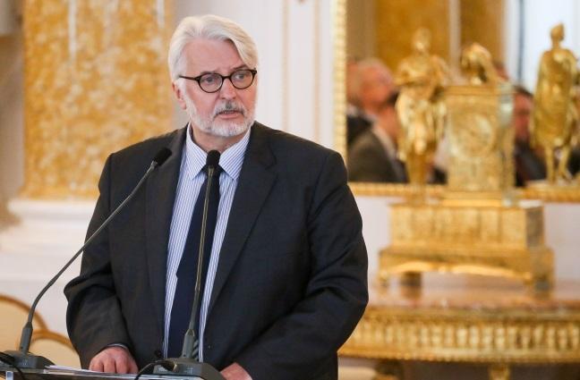 Witold Waszczykowski. Photo: PAP/Paweł Supernak