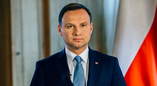 Президент Польши Анджей Дуда. Фото: prezydent.pl