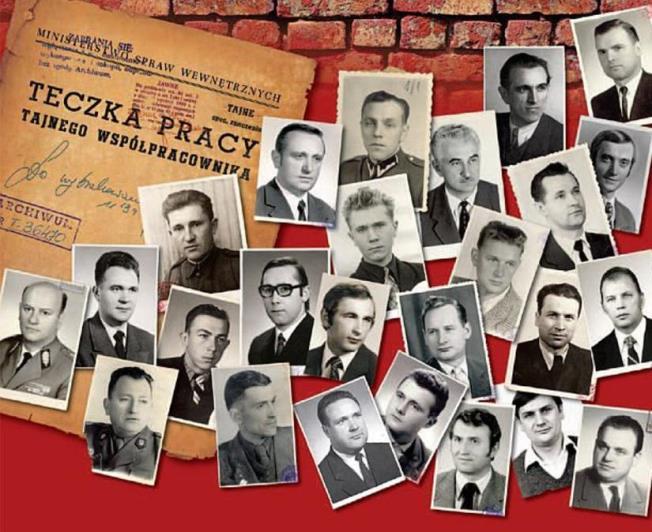 """Okładka książki """"Twarze opolskiej bezpieki"""" wyd. IPN"""