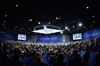 Crises abound as NATO country leaders convene in Warsaw