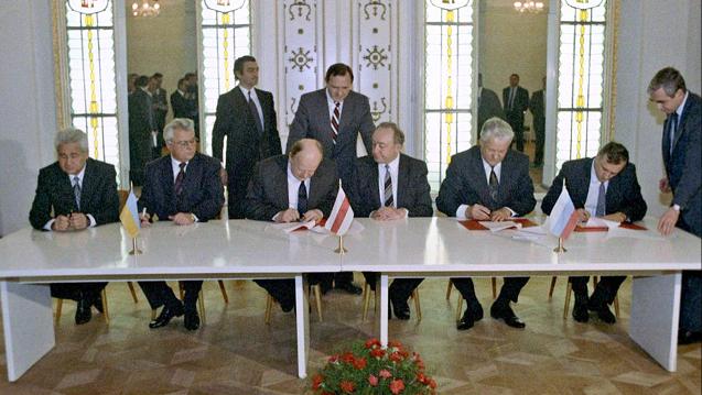 Podpisywanie układu w Wiskulach