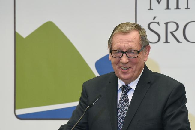 Министр окружающей среды Польши Ян Шишко.